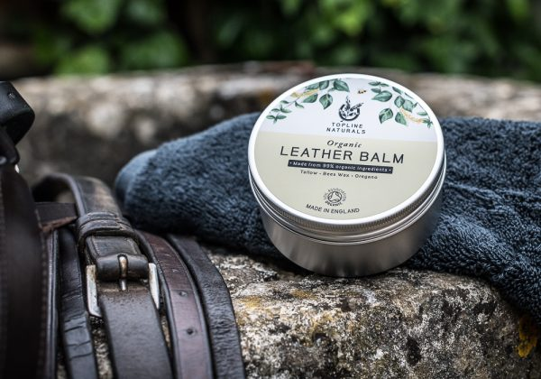 Leather Balm Being Used